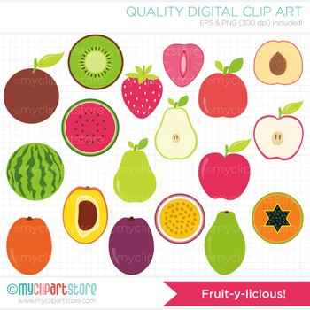 Clipart - Fruit-Y-licious