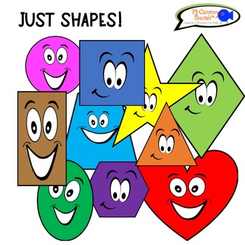 Clipart - Just SHAPES! (No restrictions! Personal or commercial use!)