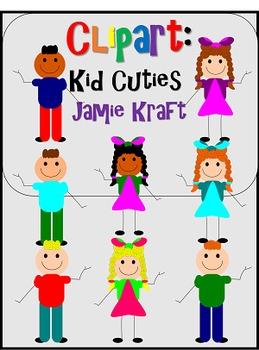 Clipart: Kid Cuties