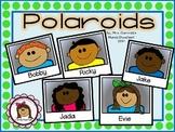 Clipart - Kid Faces Polaroids