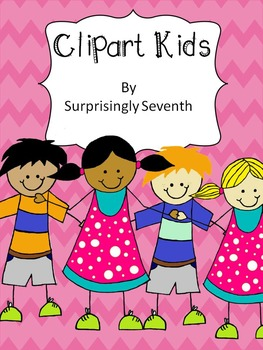 Clipart Kids - Personal and Commercial Use