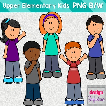 Clipart Kids: Upper Elementary