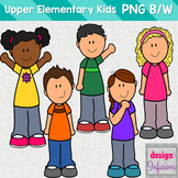 Clipart Kids: Upper Elementary