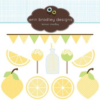 Clipart - Lemon Graphics