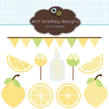 Clipart - Lemon Graphics