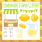Lemonade Stand Clip Art Pack for Commercial Use