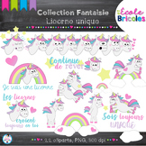 Clipart- Licorne unique (Unicorn)