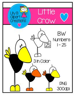 Clipart - Little Crow