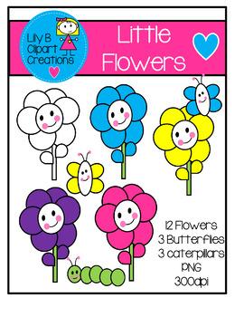 Clipart - Little Flowers