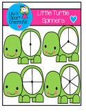 Clipart - Little Turtle Spinners