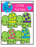 Clipart - Little Turtles