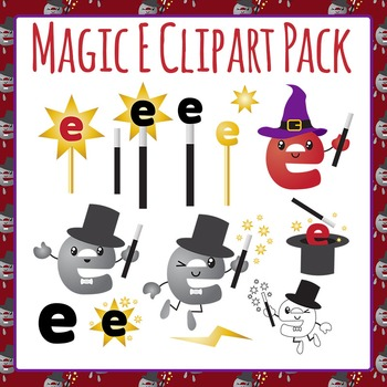 Magic E Clip Art Pack for Commercial Use