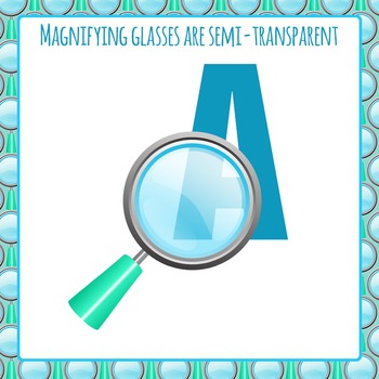 Magnifying Glasses Clip Art Set for Commercial Use