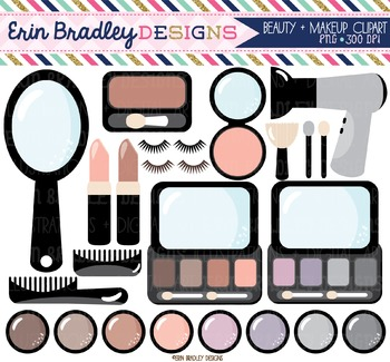 Clipart - Makeup & Hair Graphics