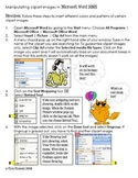 Clipart Manipulations Microsoft Word 2003