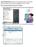 Clipart Manipulations Microsoft Word 2007