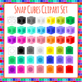 Manipulatives - Snap Cubes Clip Art Pack for Commercial Use