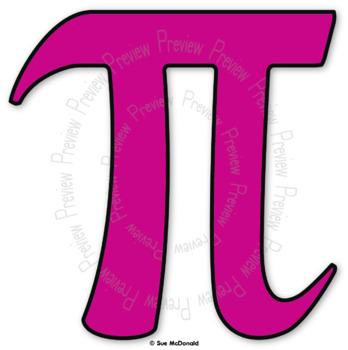 Clipart Math Symbols Pink 16 High Quality Vector Graphics Tpt