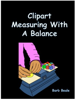 Clipart - Measuring With A Balance - 8 files