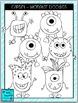Clipart - Monster Doodles
