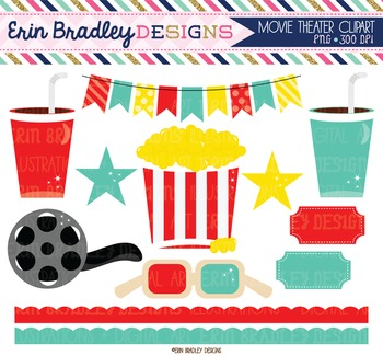 Clipart - Movie Theater