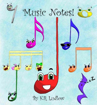 Clipart - Music Notes