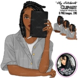 """Clipart -""""My Notebook"""""""