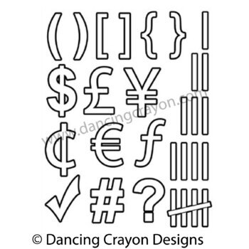 clipart numbers and maths symbols clip art for teachers tpt