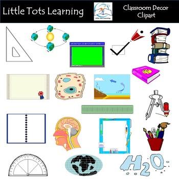 Classroom Decor Clip Art