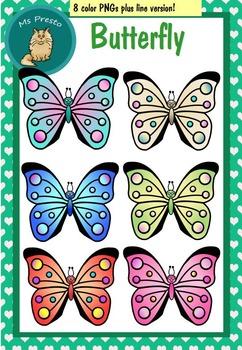 *Summer Freebie #1* Clip Art PNGS - Butterfly
