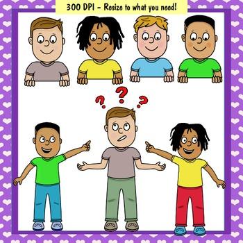 Clip Art PNGs - Kids - Boys