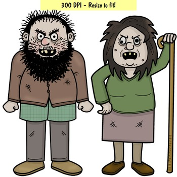 Clip Art PNGs - The Twits