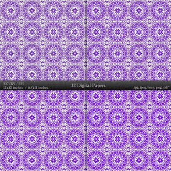 Clipart Pattern Sheet Background Damascus Template Jpeg Page Cover Collag Damask