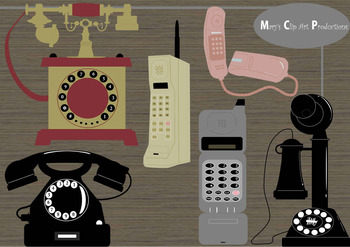 Clipart - Phone Evolution