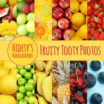 Fruit Background Photos Clip Art Pack for Commercial Use