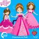 Princess Clipart, Peincesses, Clipart, Fairy princess Clip