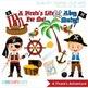 Clipart - A Pirate's Adventure (boy pirates)