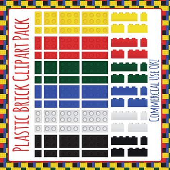 Lego Like Plastic Bricks (Similar to Lego or Lego Like) Cl