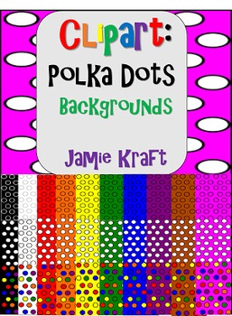 Clipart: Polka Dots Backgrounds