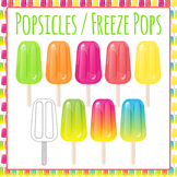 Popsicles / Freeze Pops / Ice blocks / Ice Lolly - Commercial Use
