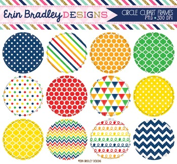Clipart - Primary Colors Circles
