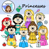 Clipart - Princesses