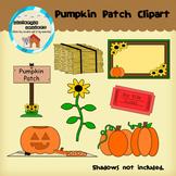 Clipart: Pumpkin Patch! - Fall - Sunflower - Hay bale
