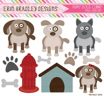 Clipart - Puppy Dog Graphics