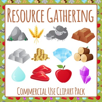Game Resources Clip Art Pack for Commercial Use