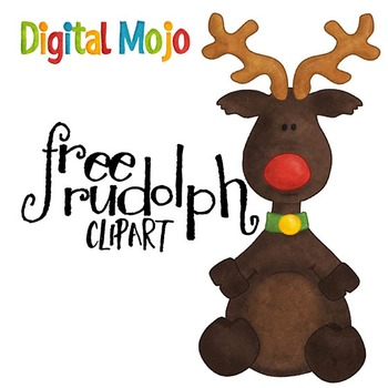 Rudolph Clipart (the red nose reindeer!)