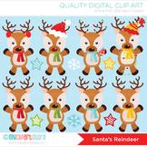 Clipart - Christmas / Santa's Reindeer