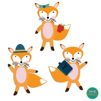 Clipart- School- Fox