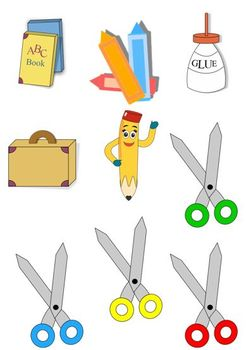 Clipart School Pack