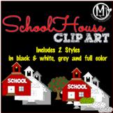 Clipart - SchoolHouses